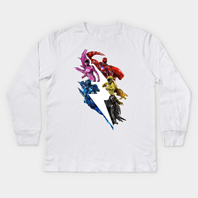 Power Rangers 2017 Movie Poster Tee 1